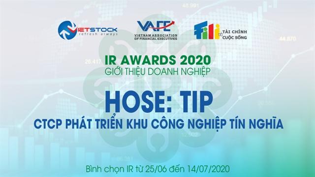 Báo cáo phân tích kỹ thuật cổ phiếu TIP 07/10/2021